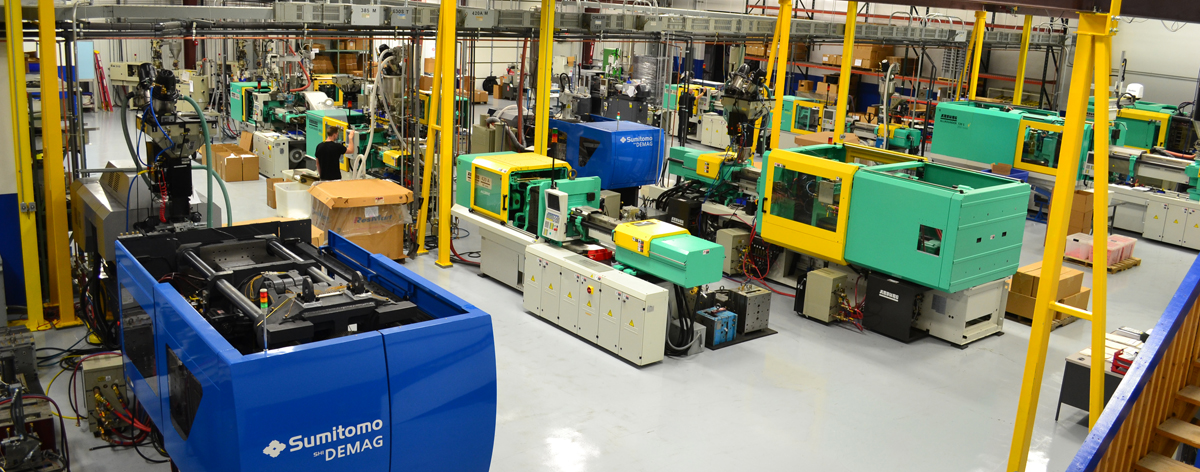 INJECTION MOLDING MACHINES FROM 30 TO 440 TONS